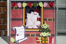 Scrapbook Pages: Christmas / Inspiration for when I scrap Christmas pictures.
