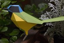 Low Poly / Paper Craft