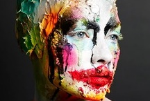 Painting inspired makeup
