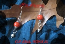 Earrings - Handmade by Mone / http://monecamino.wordpress.com