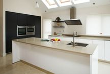 Contemporary Kitchens / Peter Bernard Kitchen Design Dublin specialist in Bespoke Kitchens for over 20 years.