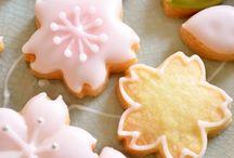 Печенье японское