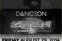 """DanceOn Spotlight - Aug. 29th / SPOTLIGHT is a live, FREE, event celebrating the best of dance and inspiring tomorrow's leaders of entertainment. The event will kick off with a live taping of Les Twins and other featured performances for John Legend's film """"Breaking Through."""" The show continues with dance performances from high profile DanceOn talent and a live DJ set with Ben Tarquin from YAK Films.   1:30 PM - Doors Open   Want to be in the film, BREAKING THROUGH? Go to danceon.com/spotlight for more info!"""