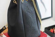 Sac en cuir A.M.A.N.D Automne Hiver 2015 / Sacs en cuir, maroquinerie , handmade, madeinfrance , sac seau , sac trapèze, pochette en cuir et jacquard, créations françaises