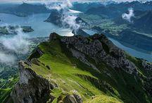 Switzerland.-  Mount Pilatus