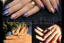 Chiara's Nails / Qualche decoro realizzato da me XD
