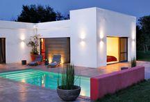 Dream home spot / Modern scandinavian inspiration, nordic, black and white, minimalism.