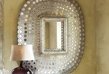 Moroccan Mirrors / Moroccan mirrors are stunning and adds the little extra to any room or interior style. They come in som many different shapes, materials and colors and can easily be integrated in your home decor