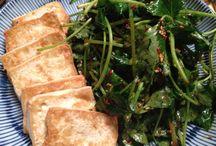 Korean cuisine, Korean vegetarian foods / Foods i cook