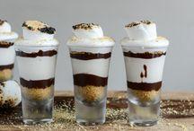 Shooters & dessert in a Jar / Desert in a glass
