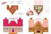 Crafts: Paper - Houses etc