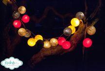 Cotton balls lights