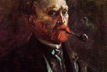 Vincente Van Gogh... / Como ele se via? que sentimentos estão expressados em seus trabalhos?