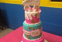 Girl Birthday Party Theme cakes