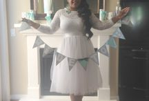 Bridal shower / White and Tiffany blue bridal shower / by Regina Groves