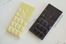 Czekoladowe kosmetyki / chocolate cosmetics / chocolate, beauty, czekolada, kosmetyk, uroda, diy, pomysł, idea, zapach, prezent, zrób to sam