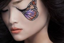 Karneval Schmetterling