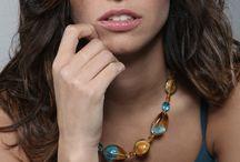 Beautiful glass jewelry