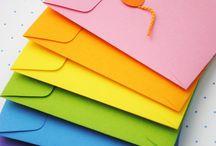 Envelopes/punch board