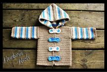 Crochet boy sweater