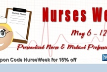 Nurses Week / Custom Gifts for Nursing Students and other medical professionals. Nurse's week, nurse graduation or just to say thanks to your favorite doctor, nurse or emt