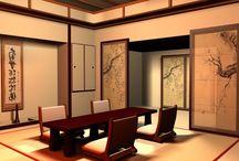 японский интерьер
