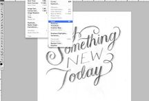 Photoshop & Fonts / by Laurel Powell