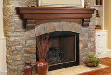 Fireplace mantels  / by Karen King