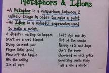 Figuaritive lang, Idioms, metaphors & similes