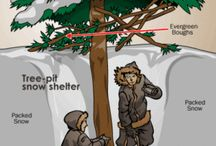 Winter Camping Prep / Struggling with winter campouts? Here are some great ideas for dealing with the chilly weather.