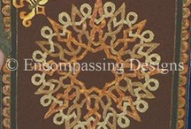 Compass Rose Hooked Rugs