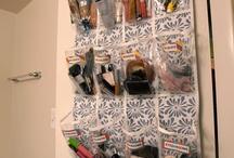 MY SMALL BATHROOM STORAGE / by Laura Greer