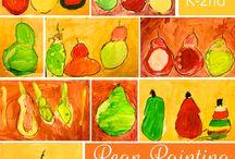 Cézanne: kunstlessen voor kinderen / Doe hier ideeën op om thuis of op school aan de slag te gaan! Mevrouw Merel inspireert graag kinderen, ouders en leerkrachten.
