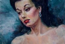 VINTAGE Paintings & Portraits / by Tammy Hillyer
