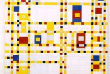 piet Mondrian 孟德里安