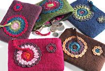 cute felt purses