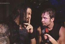 Roman Reigns with Dean Ambrose