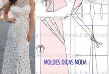 Cucito abiti - sewing dress / cucito abiti donna e uomo con schemi