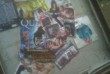 Cartelería Pesada / Collages de carteles de eventos, conciertos, etc.