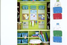 work closet and shed ideas for house business product creation and for guest craft classes/ tutorials / ... / by Eden Nicole