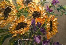 Palette Knife paintings / by Connie Logan