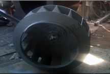 Impeller Blade / Indoblower melayani pembuatan blade untuk blower