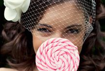 candy / Bright, colorful and fun wedding inspiration