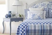 Blauw witte kamers