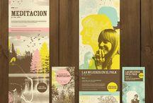 Diseño / grafico, carteles, colores