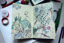 Sketching diary