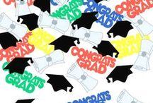 Graduation / Congrats Grad Party! Celebrate Graduations in style from pre-school to college. We searched through the most interesting graduation party ideas and added some of our favorite graduation party supplies as well.