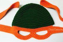 Crochet - Ninja Turtles!