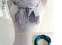 Schal binden