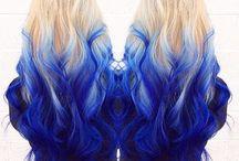 pintura para el pelo